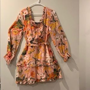 Flower dress. Size 10.